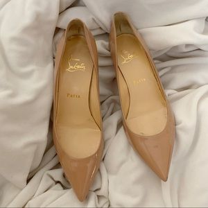 Christian Louboutin Pigalle Follies Patent NUDE
